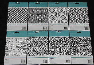 "Kaisercraft 'EMBOSSING FOLDERS' 5x7"" (Choose from 8) RRP$7.99 KAISER *Deleted*"