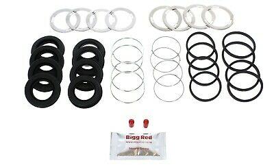Mercedes S Class W140 FRONT Brake Caliper Seal Repair Kit (2 calipers) 4044