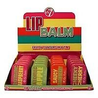 W7 Lip Balm Fruity Flavours In a Tin