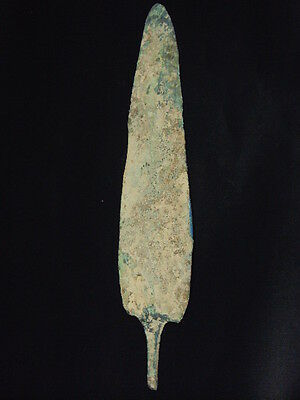 Ancient Bactrian Large Bronze Dager Blade 300 BC