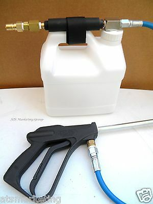Carpet Cleaning - High Pressure INLINE Injection SPRAYER / Hose