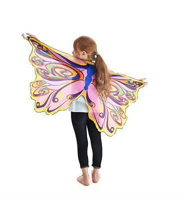 Wings Dress Up Dance Pretend Play Bat Dragon Butterfly Fairy Sparkle Bird Eagle