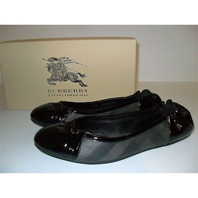 Burberry Ballerine Smoked Check No Buckle  Scarpe Donna Shoes