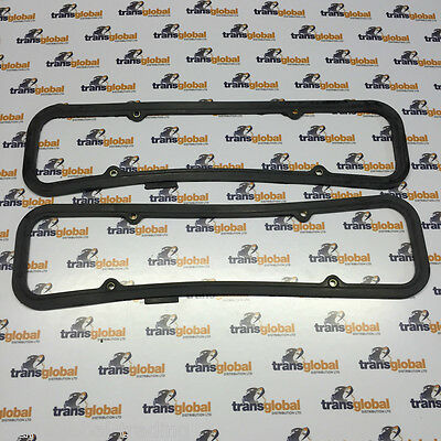 Land Rover Defender V8 Pair of Rubber Rocker Cover Gasket x2 - Bearmach LVC10026