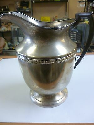 Beautiful Benedict Silver Plate water Pitcher #1130