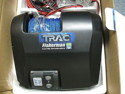 Boat Trac Freshwater Fisherman Electric 25 Anchor Winch w/Wireless Remote Kit