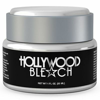 1 HOLLYWOOD BLEACH STRONG Bleaching Whitening Skin Lightening Brightening Cream