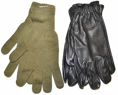 CANADIAN ARMY COMBAT GLOVES - EXTRA LARGE - 1980's - NEW - 499CF