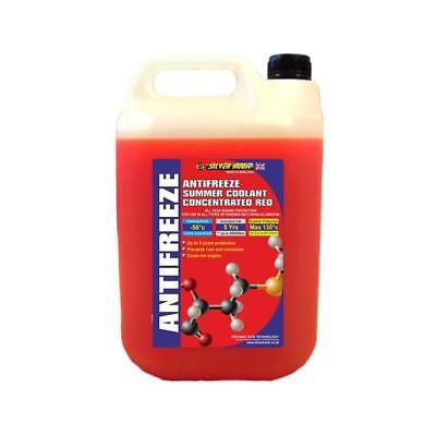 Silverhook Concentrated Red Antifreeze Summer Coolant OAT -56°C 4.54L [SHAR4]
