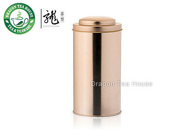 Rose Gold Color Double Lid Tea Tin Metal Canister Coffee Can 610ml 20oz (L)