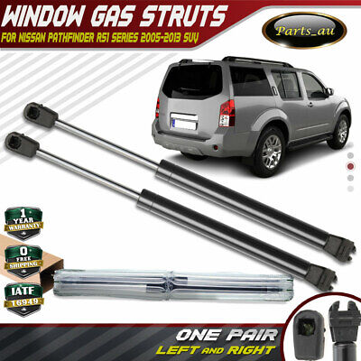 Set of 2 Rear Tailgate Window Gas Struts for Nissan Pathfinder R51 2005-2012