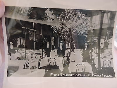 OLD CONEY ISLAND, BROOKLYN NYC 8x10 Reprint Photo Front Balcony Stauch's