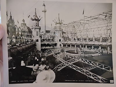 OLD CONEY ISLAND, BROOKLYN NYC 8x10 Reprint Photo In Luna Park