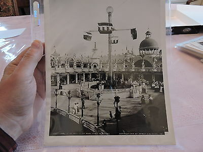 OLD CONEY ISLAND, BROOKLYN NYC 8x10 Reprint Photo Wheel of Whirl, Luna Park