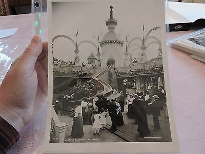 "OLD CONEY ISLAND, BROOKLYN NYC 8x10 Reprint Photo The ""Helter Skelter"" Luna Park"