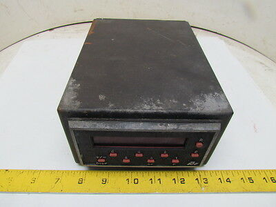 "Red Lion Controls GEM1 LED 6-Digit Counter/Rate Meter 11-14VDC 6x8"" Enclosure"