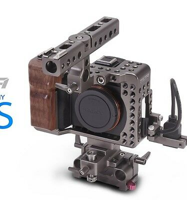 Tilta SONY A7S quick release baseplate Top Handle Cage Fo Sony A7S DV VIDEO Film
