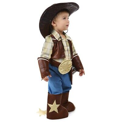 Toddler Cowboy Costume Baby Outfit Halloween Fancy Dress Up