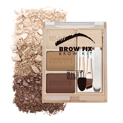 Milani Brow Fix Kit Brow Shaping Kit ~ 3 Shades ~ Includes Tweezers and MORE!!!