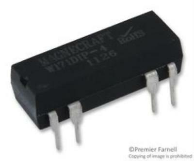 New Brand No.10M6273 Magnecraft W171dip-4 Reed Relay, Spst-No, 12vdc, 0.5a, Thd