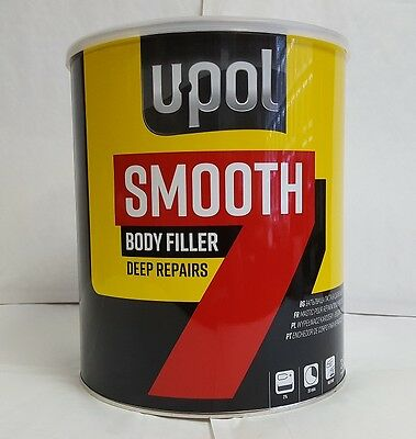 U-pol Smooth 7 Easy Sand Car  Body Filler 3.5L Upol