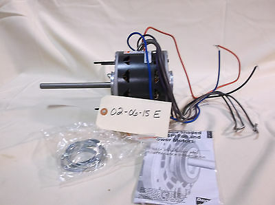 Dayton 1/6 HP Direct Drive Blower Motor, 277 Volts