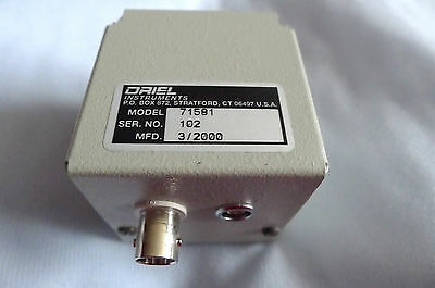 Oriel - Newport  71611 Silicon Detector With Data and Cables