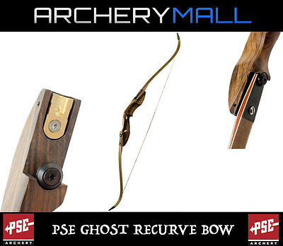 PSE GHOST RECURVE bow 60in, RH or LH [45,50,55LB ILF LIMBS] REG  PRICE $450