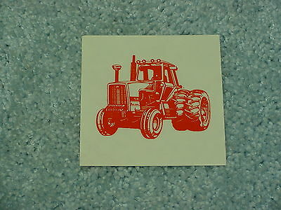Allis Chalmers Tractor Decal Sticker