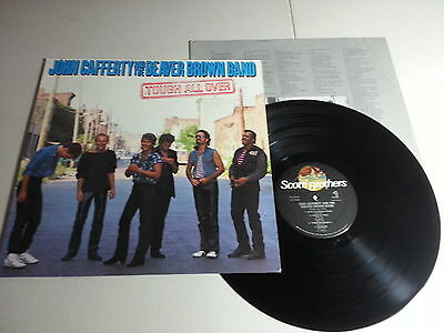 John Cafferty & the Beaver Brown Band - Tough All Over Vinyl LP - NM UNPLAYED