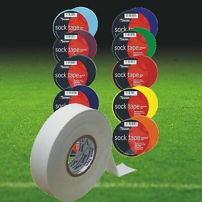 25 ROLLS of FOOTBALL SOCK TAPES - 33 METRE - Colour to choose