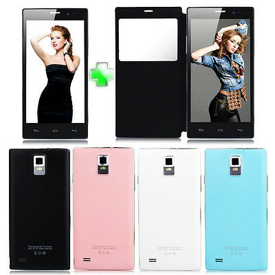 """5.5"""" Android 2Core Dual Sim Unlocked Cell Phone GPS AT&T 3G/GSM/WCDMA Smartphone"""