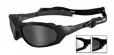 Wiley X XL-1 Advanced Changeable Matte Black Frame/Grey Lenses Sunglasses #291