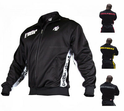 Gorilla Wear Track Jacket Trainingsjacke Fitness Sportswear Bodybuilding