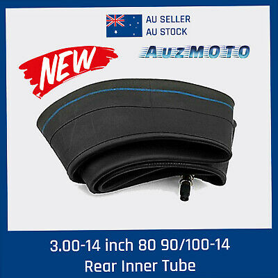 3.00-14 inch 90/100-14 Rear Inner Tube for 125cc 140cc 150cc Dirt Trail Pit Bike