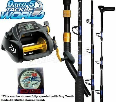 Daiwa Tanacom 1000 Reel, Rod & Braid Combo BRAND NEW at Otto's Tackle World
