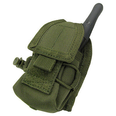 Condor Tactical Compact Hhr Radio Communication Pouch Molle Holder Webbing Olive