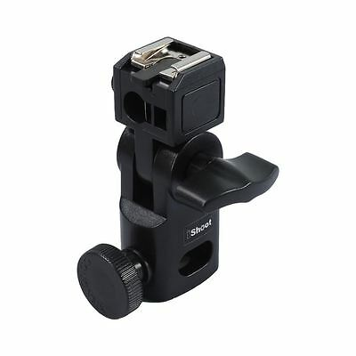 iShoot IS-GII Mini Flash Holder Universal Metal Hot Shoe mount for Light Stand