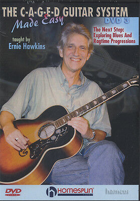 The C-A-G-E-D Guitar System Made Easy DVD 3 Ernie Hawkins Blues & Ragtime
