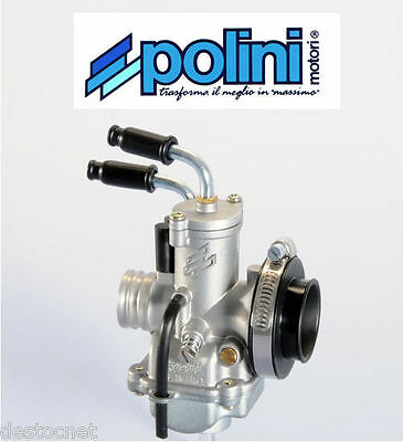 Carburateur Carbu 17.5 POLINI CP MBK Booster Spirit Nitro Stunt 50 cc