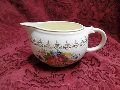 """Taylor Smith Taylor: Floral Bouquet, Gold Filigree: Creamer / Cream Pitcher 2.5"""""""