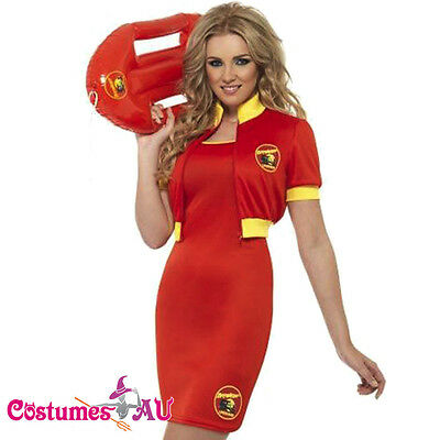 Ladies Baywatch Lifeguard Beach Patrol Fancy Dress Costume Pool Party Outfits  sc 1 st  PicClick & LADIES BAYWATCH Lifeguard Beach Patrol Fancy Dress Costume Pool ...