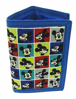 Mickey Mouse | Say Cheese | Tri-Fold Wallet | Purse with Coin Zip Compartment