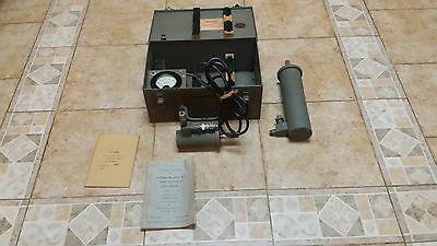 Vintage World War II Navy Wavemeter Test Set Model AN/UPM-2, Complete
