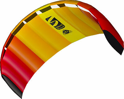 HQ Power Kite Symphony Beach III 1.8M Mango Ready to Fly Outdoor Package - NEW