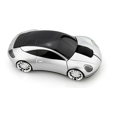 HOT 3D 1600DPI Bugatti Car Shape Usb Optical Wired Gaming Mouse with Light Up