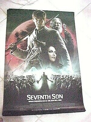 Seventh Son Final  Original Movie Poster Double Sided 27x40