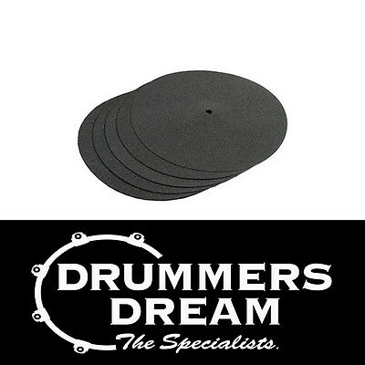 "HARDCASE 19"" cymbal protectors pack of 5 BRAND NEW"