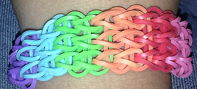 Rainbow Loom Triple Single Bracelet