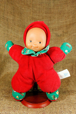"Zapf Creation Baby Soft Plush 11"" Doll Germany Terry Cloth Farm Animals P29"